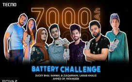 TECNO POVA 2 Battery Endurance Challenge