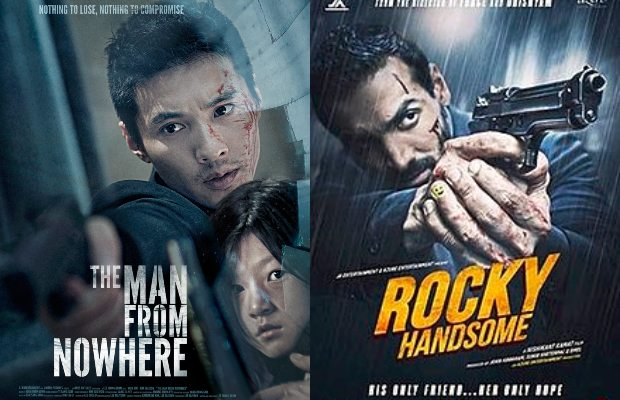 The Man From Nowhere (2010) into Rocky Handsome (2016)