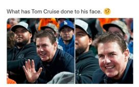 Tom Cruise's changed appearance