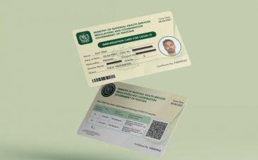 COVID-19 vaccine certificates