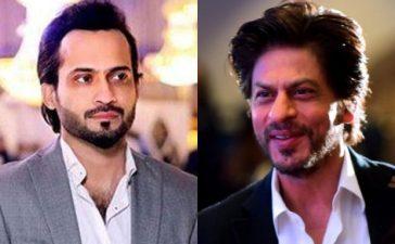 Waqar Zaka stands with SRK