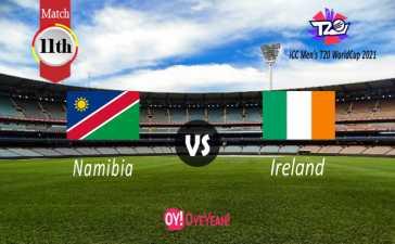 Namibia vs Ireland