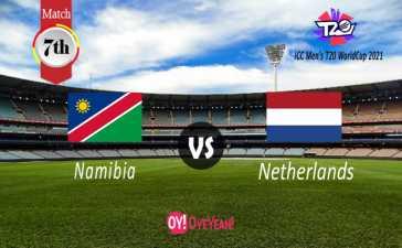 Namibia vs Netherlands