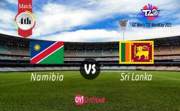 Namibia vs Sri Lanka