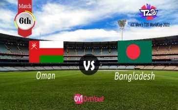 Oman vs Bangladesh