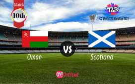 Oman vs Scotland