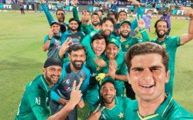 Pakistanis celebration