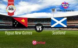 Papua New Guinea vs Scotland
