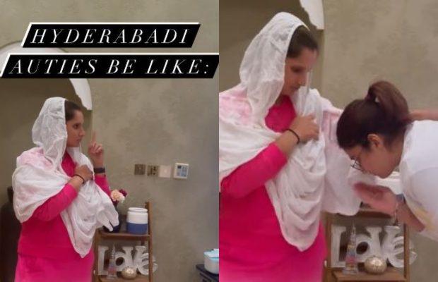 Sania Mirza's viral Instagram trend